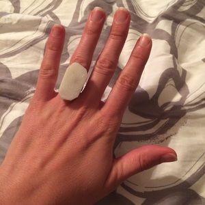 Jewelry - Adjustable Druzy Ring